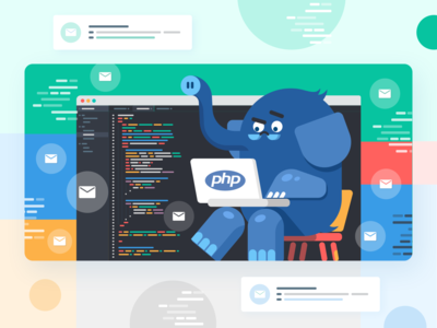 How PHP email sending works