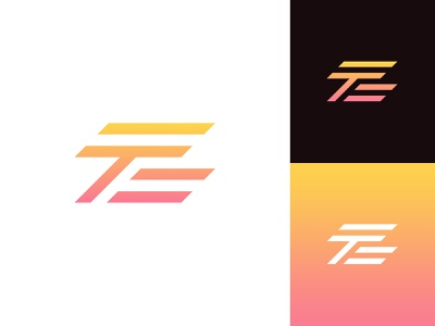 ZT Logo lettermark logo gradient sophisticated logo abstract logo logo design exploration logo design concept idea logo designer professional