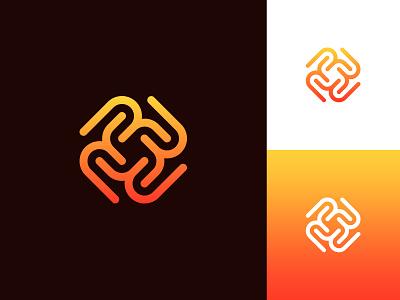 R's Logo sophisticated logo letter r lettermark logo clean abstract logo logo logo design logo design concept idea logo designer professional