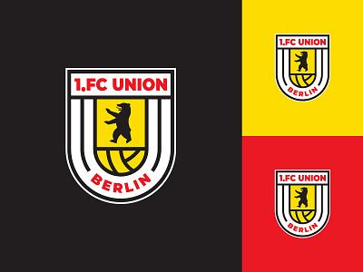 1. FC Union Berlin | Logo Redesign the iron ones berlin fußball deutschland germany bundesliga logo football soccer futbol soccer logo football logo football crest logo redesign 1.fc union berlin