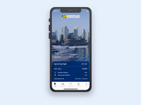 Harbour Air Mobile - Home Screen Animation