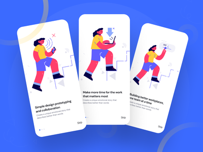 Onboarding Screen Exploration app onboarding screen mobile app onboarding walkthrough flat design app design app ios illustration typography ui mobile app design mobile app mobile splash onboarding ui design onboarding app screen design onboarding screen onboarding ui onboarding