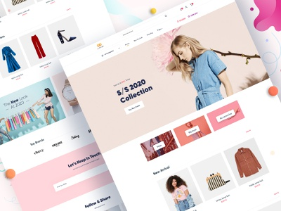 eCommerce: website fashion e-commerce shopping creative agency website web minimal typography ui landing page design landing page homepage design homepage fashion ecommerce ecommerce website design ecommerce website ecommerce app ecommerce design ecommerce