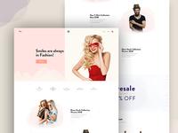Eco Fashion Landing Page