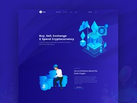 Ico Cryptocurrency Landing Page