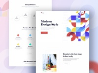 Design Agency - Homepage