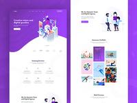 Design Agency - Homepage V1