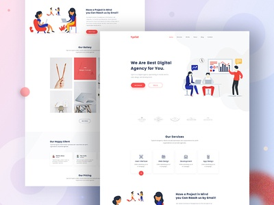 Design Agency - Homepage V2