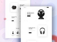 Atoz - Headphone Landing Page V2