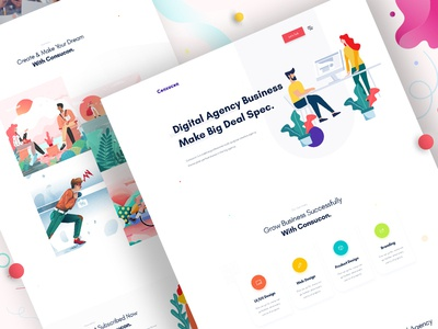 Design Agency - Homepage V5