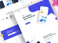 App Landing Page Design V1