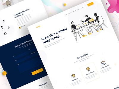 Design Agency - Homepage V6