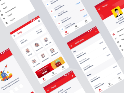 Sohoj  - Remittance app redesign