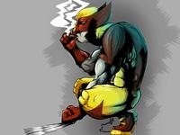 Wolverine - Cintiq test