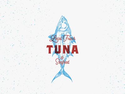 Fresh Tuna Sign