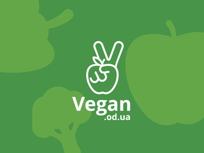 Vegan food delivery branding