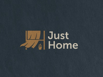 Just Home. Logo concept for a construction company.