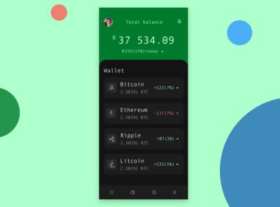 Asgar app - Crypto wallet