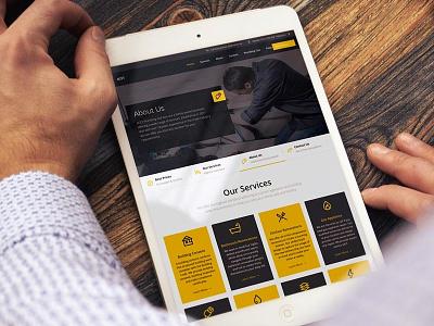 4CET plumbing yellow website