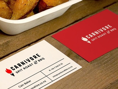 Carnivore Hire Branding auckland catering bbq carnivore