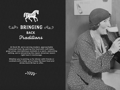 Bringing Back Traditions photo texture black bw vintage promo card traditions