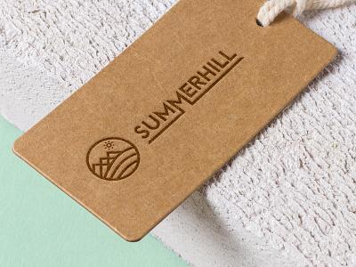 Summerhill logomark branding logo
