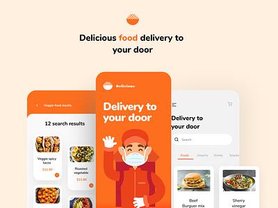 Food Delivery Mobile App ui design ux mobile apps mobile application restaurant restautant app food app design food app food app design app mobile app design mobile design mockup mobile app