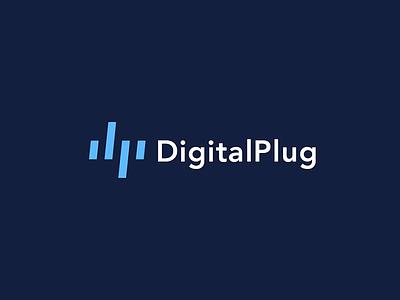 Digital Plug logotype calligraphy designer hire creative graphic design inspiration idea branding brand logo