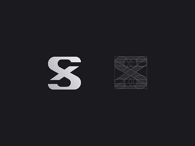 SX Monogram popcorn designer mark creative script inspiration logotype branding brand monogram logo