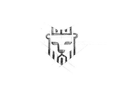Lion Mark Sketch