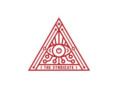 THE SYNDICATE LOGO canada squamish aaron brink secret society bigbrother illuminati hacking hacker hack eye syndicate triangle