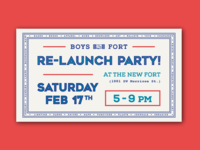 Fort Re-Launch