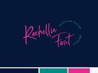 Rochellie Font Alternate Logo
