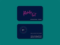Rochellie Font Buisness Card Mockup