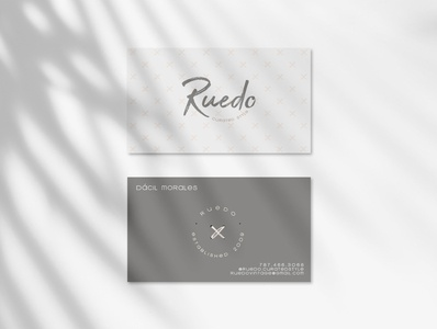 Ruedo Business Card