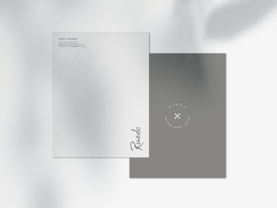 Letterhead for Ruedo