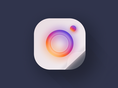 Instagram ux ui app logodesign figmadesign instagram branding vector design figma illustration logo design logo