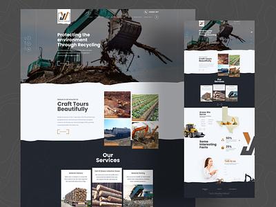 Mining Landing Page home page design mining website illustration web figma website design website ux ui design home page landingpage