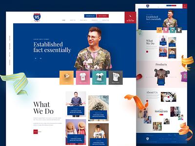 Priting Landing Page ceative design print landing page design website web ui ux design homepage landingpage