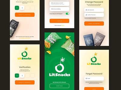 App Screen app design minimal app ux design ui