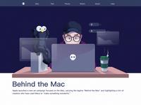 Behind the Mac
