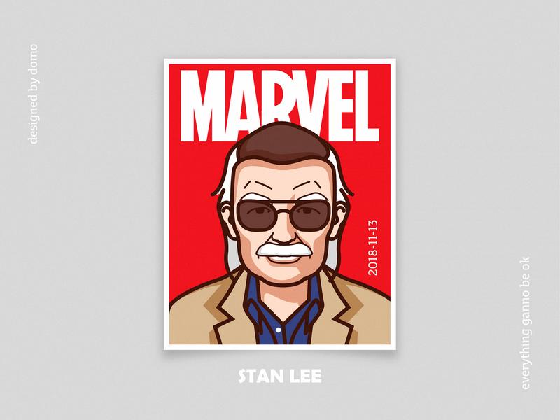 Stan lee magzin stanlee marvel web poster illustration