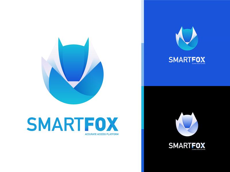 FOX data fox logo fox monster web logo character