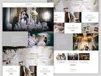 Weddings organiser homepage
