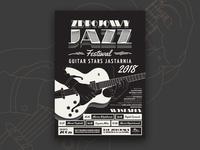 Jazz Guitar Festival Poster 🎸