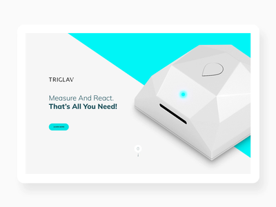 Triglav product mp4 interface interaction technology ux ui app www web animation after effects