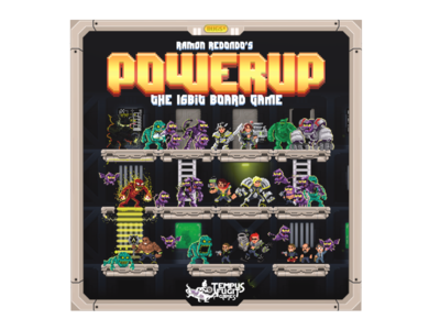 POWERUP the 16 bits board game
