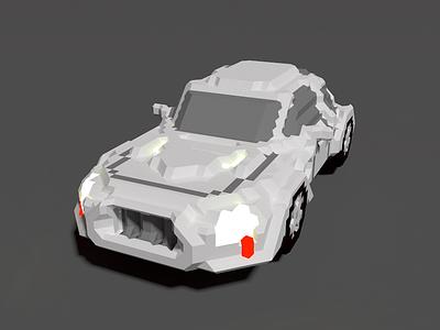 Voxel Car car voxel