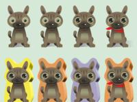 Dog Design for Board Game