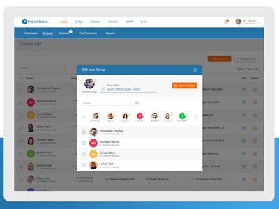 Dashboard for Financial Management System